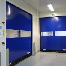 Porte LLACCESS D313 Cleanroom bleu