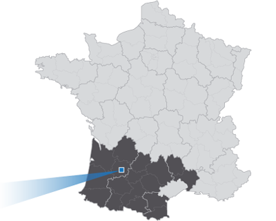 Carte de France des interventions