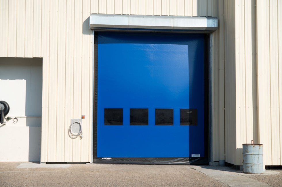 Porte POWER m2 dynaco rapide couleur bleu - L&L Access